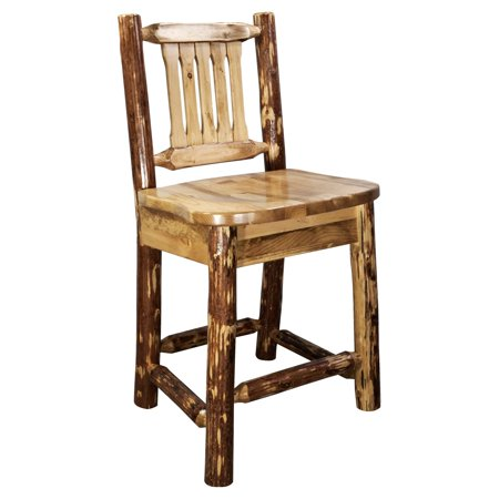 Montana Woodworks Glacier Country 24 in. Counter Stool ()