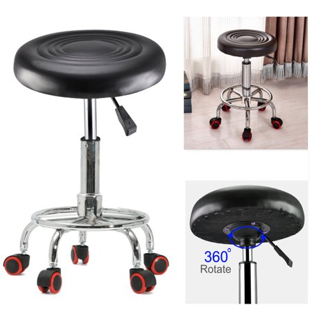 Terrific Adjustable Height Hydraulic Tattoo Salon Rolling Stool Chair Squirreltailoven Fun Painted Chair Ideas Images Squirreltailovenorg