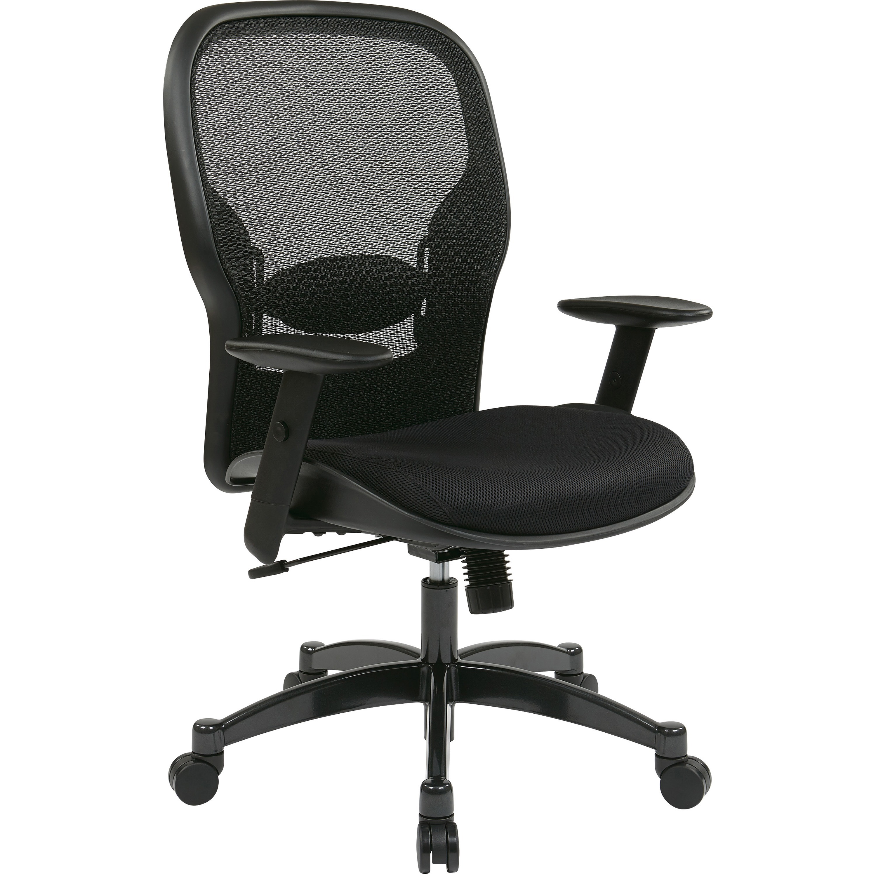 Office Star, OSP2300, Space 2300 Matrex Managerial Mid-Back Mesh Chair, 1 Each, Black