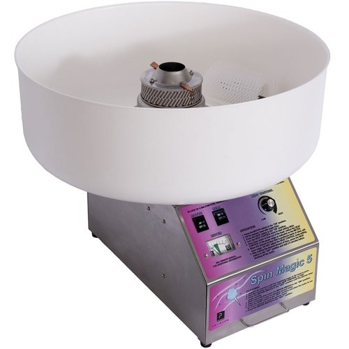 Paragon International Spin Magic 5 Cotton Candy Machine with Platic Bowl