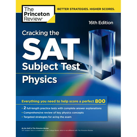 Cracking the SAT Subject Test in Physics, 16th Edition : Everything You Need to Help Score a Perfect 800 - Need Help Batman Halloween