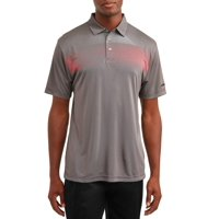 Ben Hogan Men's Performance Short Sleeve Printed Golf Polo Shirt