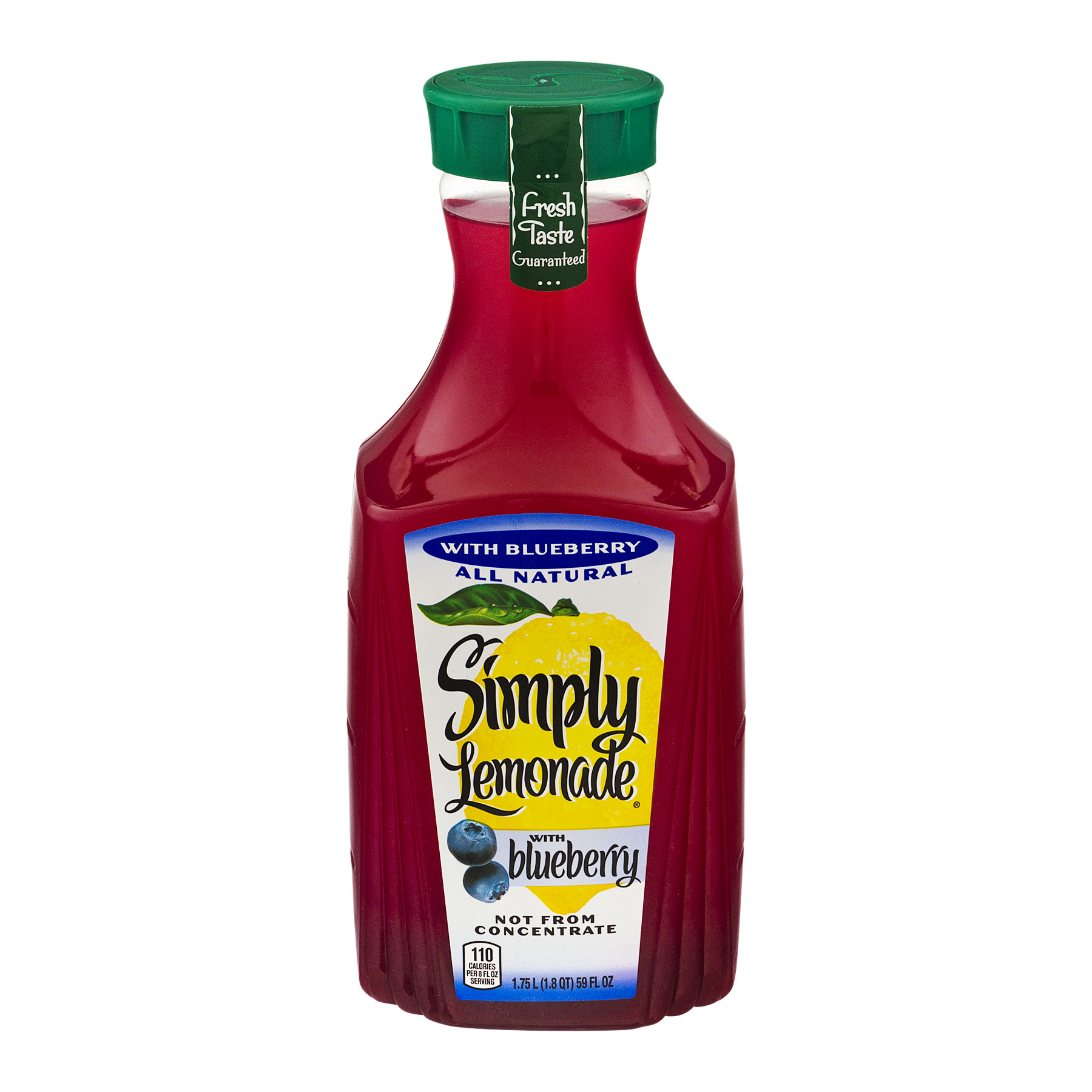 Simply Lemonade With Blueberry, 59.0 FL OZ