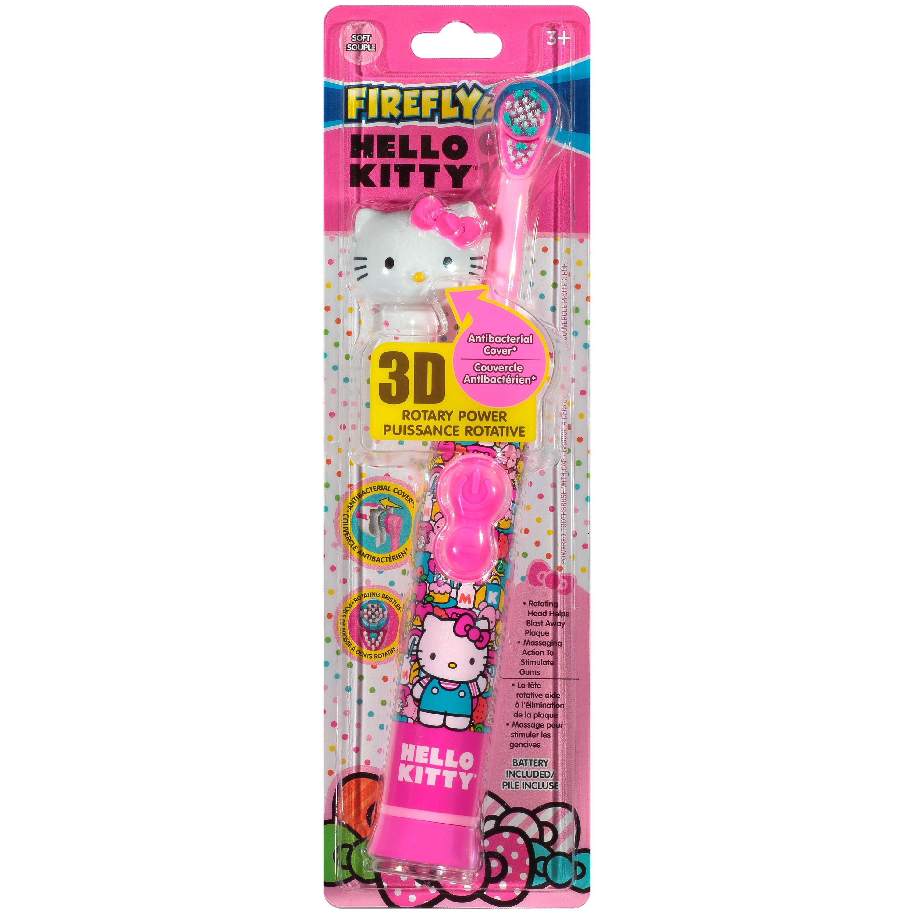 Firefly® Hello Kitty Rotary Power Soft Toothbrush