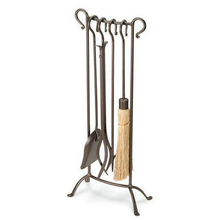 - Pilgrim Hearth Bowed 5 Piece Fireplace Tool Set