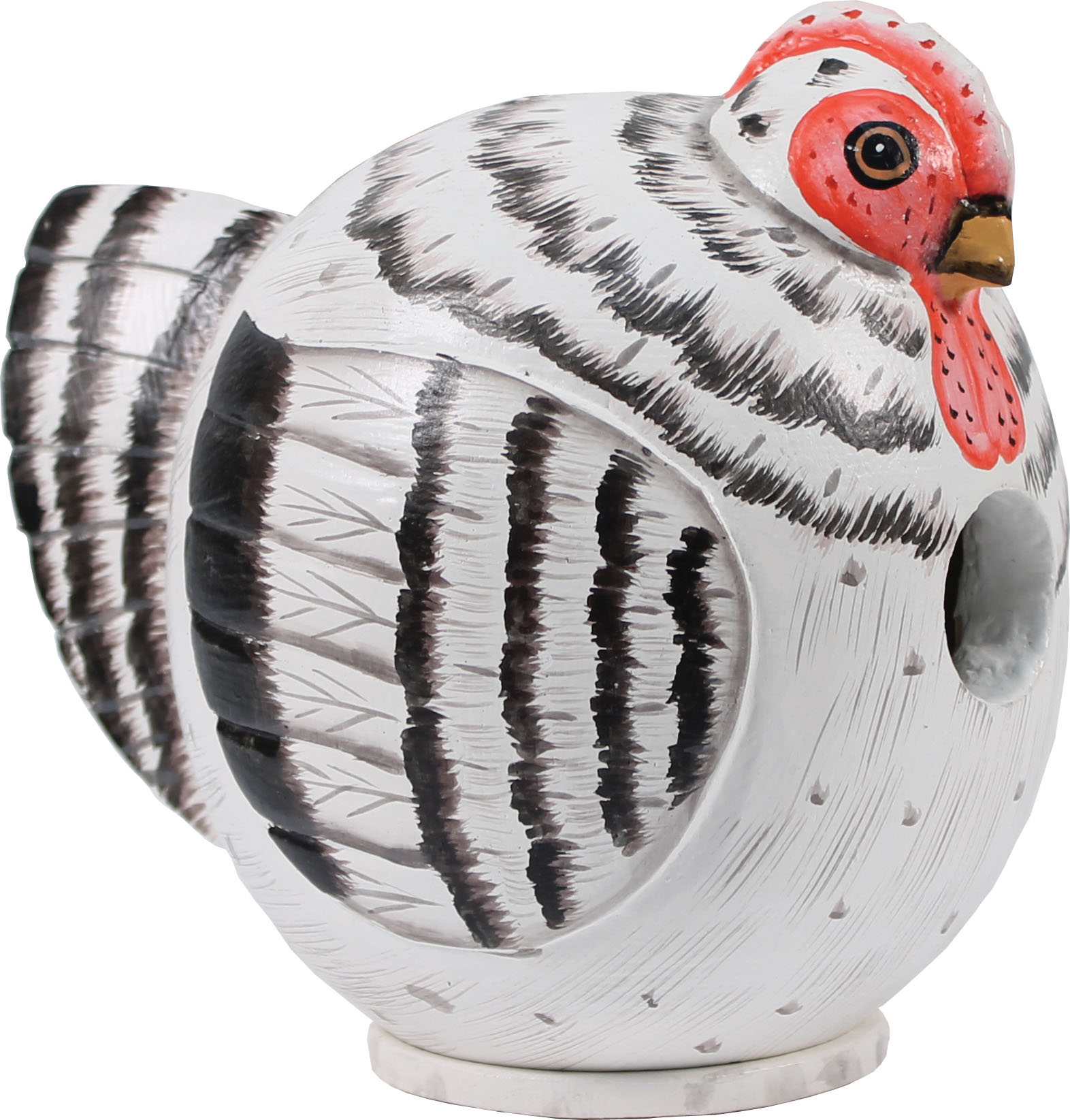Songbird Essentials-Gray Hen Gord-o Bird House- Gray