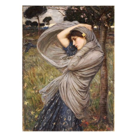 Boreas, 1903 Print Wall Art By John William Waterhouse