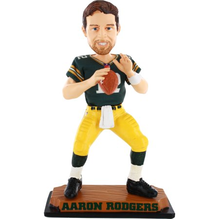 Aaron Rodgers Green Bay Packers Real Bobble Head