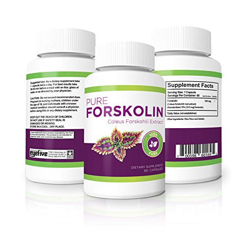 Vitality Max Labs 100% Pure Forskolin 125 mg Weight Loss Pills, 60 Ct