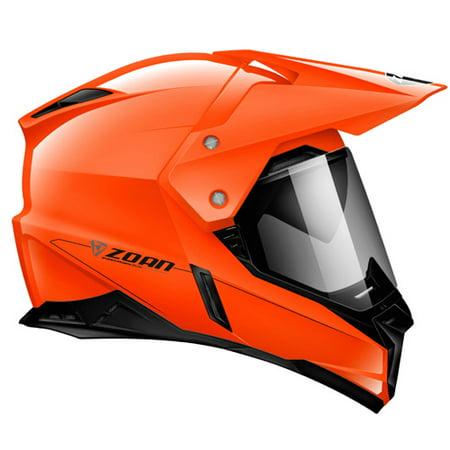 Zoan Synchrony Dual Sport Helmet  Hi Viz Orange  Xs