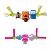 Bright Starts Take Along Musical Carrier Activity Toy Bar - Assortment, Ages Newborn +
