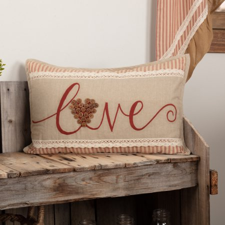 Barn Red Rustic Lodge Bedding Wilder Love Cotton Embroidered