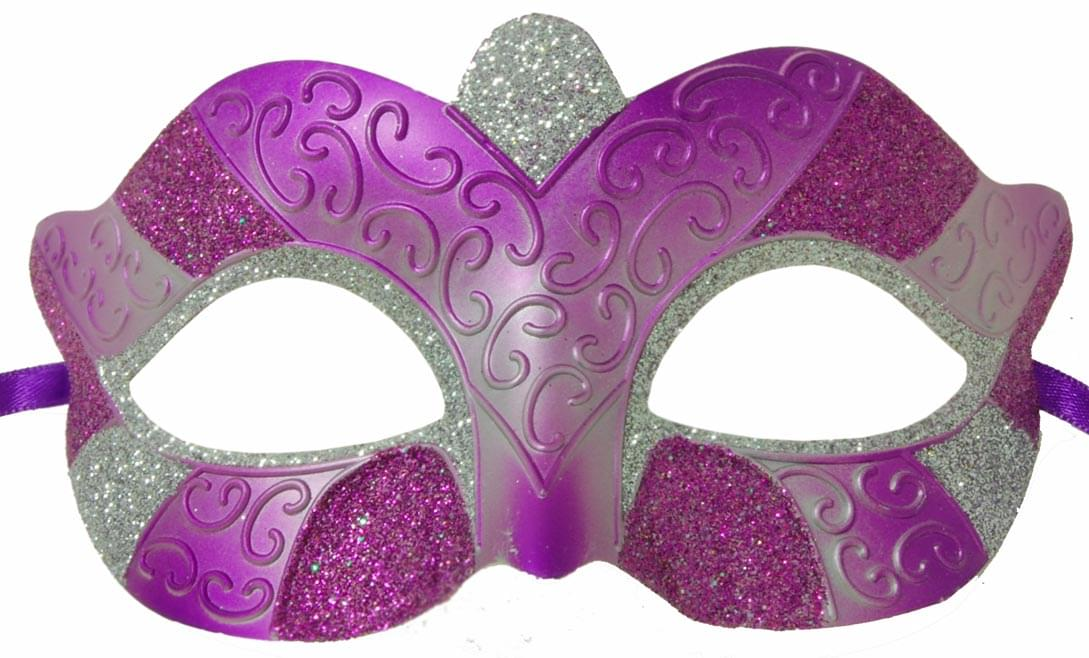 Purple Eye Mask One Size