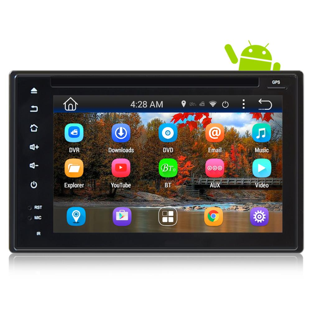 PYLE PLDNAND621 - Car Stereo System Double DIN Android Headunit Receiver, 6'' Touchscreen Display