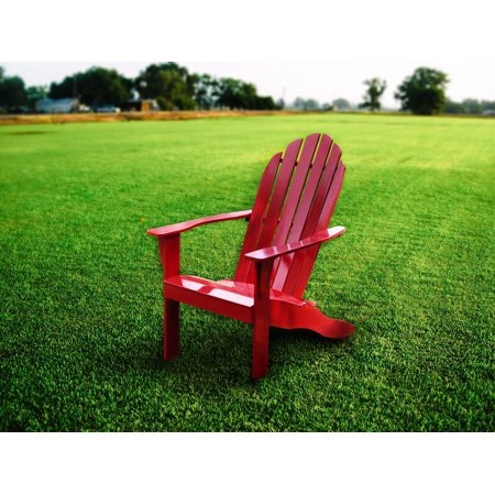 Walmart: Mainstays Red Adirondack Chair Only $35