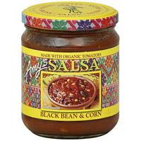 Amy's Black Bean & Corn Salsa, 14.7 oz (Pack of 6)