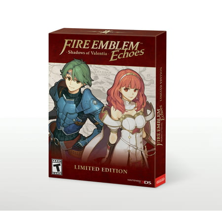 Fire Emblem Echoes: Shadows of Valentia Limited Edition, Nintendo, Nintendo 3DS,