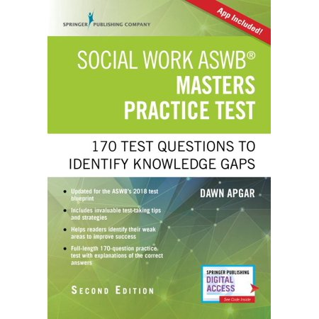Social Work Aswb Masters Practice Test, Second Edition : 170 Questions to Identify Knowledge Gaps (Book + Free (Hybrid App Development Best Practices)