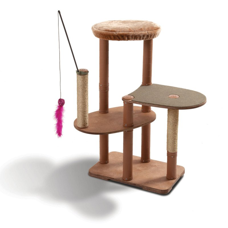Kittyscape Cat Tower Play Structures Intermediate Playscape Kit