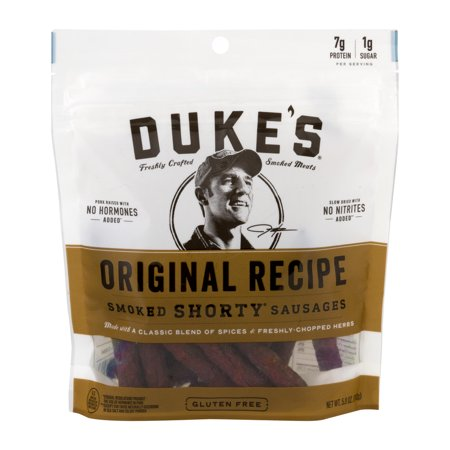 (8 Pack) Duke's Original Recipe Smoked Shorty Sausages, 5 Oz