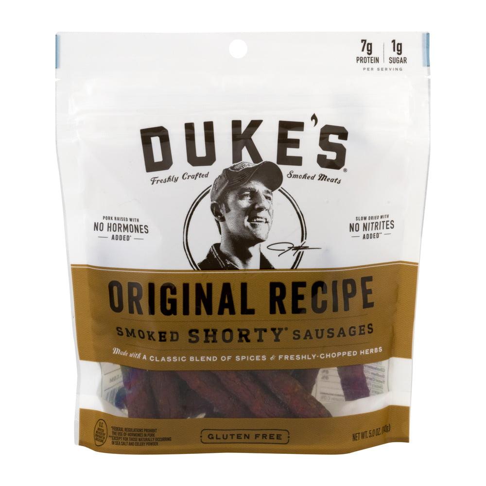 (8 Pack) Duke's Original Recipe Smoked Shorty Sausages, 5 Oz