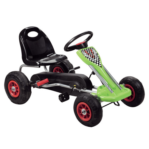 Vroom Rider Speedy Pedal Go Kart Riding Toy