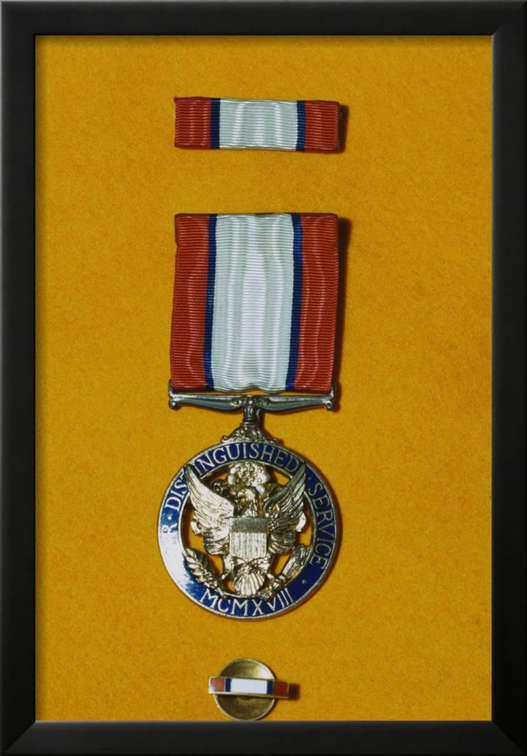 Army Distinguished Service Medal Framed Print Wall Art - Walmart.com
