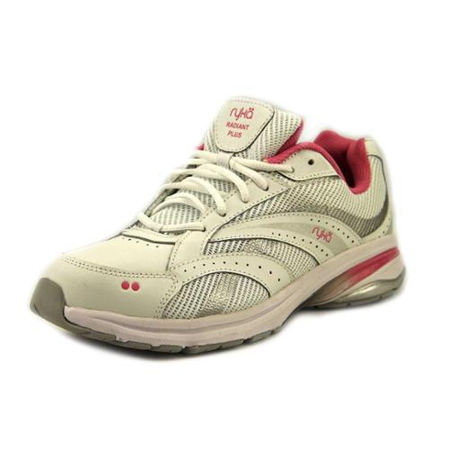 ryka radiant womens size 8 5 white wide mesh walking shoes