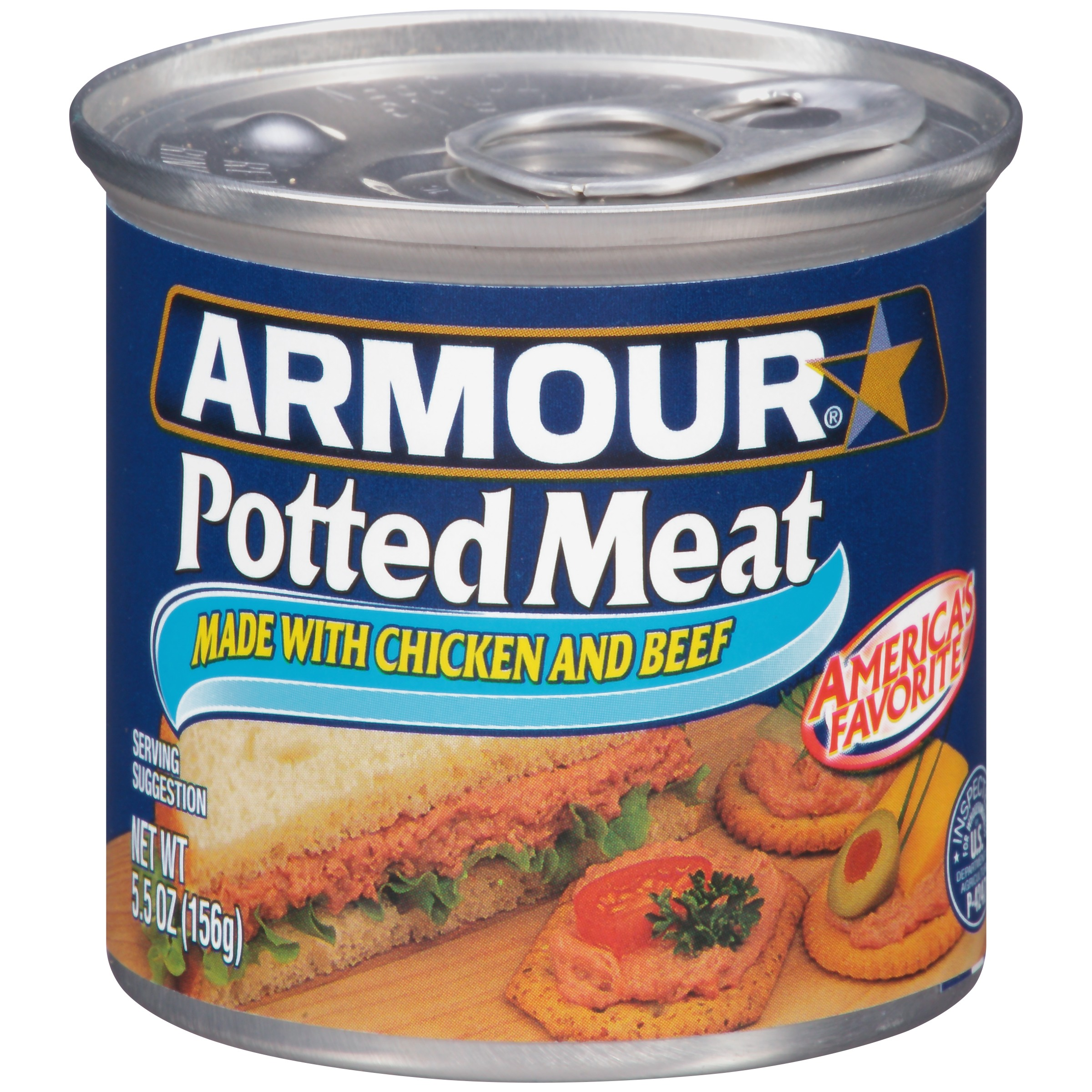 Armour Potted Meat 5.5 oz. Can by Conagra Foods