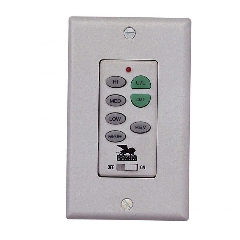 Savoy House Wall Mount Fan and Light Control
