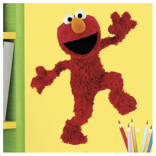 Wallhogs Sesame Street Elmo Cutout Wall Decal