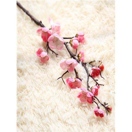 Artificial Silk Fake Flowers Plum Blossom Floral Wedding Bouquet Party Decor PK