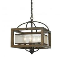 Cal Lighting Cage FX-3536/1C Pendant