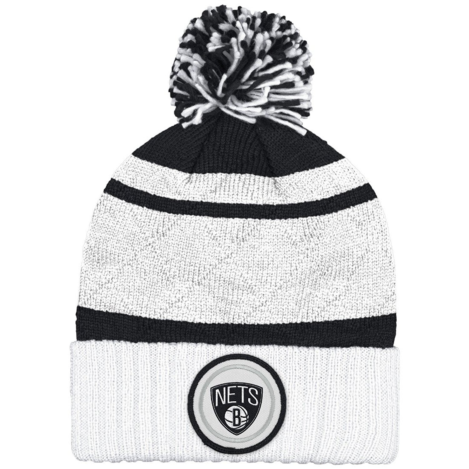 Mitchell And Ness Nba Current Quilt Stripe Crown Knit Hat ( KS49Z ) by Mitchell and Ness