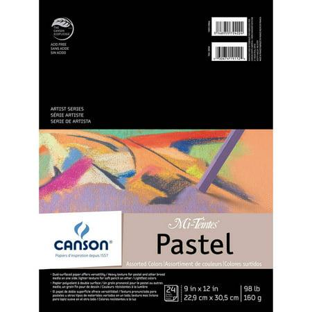 - Canson Mi-Teintes Pastels Paper Pad, 9
