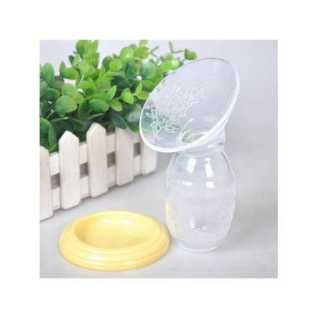 Cluxwal Breast Pump Silicone Breastfeeding Pump Manual Breast Pump Milk Pump Suction with