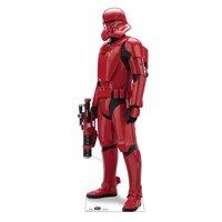 """Sith Jet Trooper Star Wars IX, Advanced Graphics Standup, 72"""" x 25"""""""