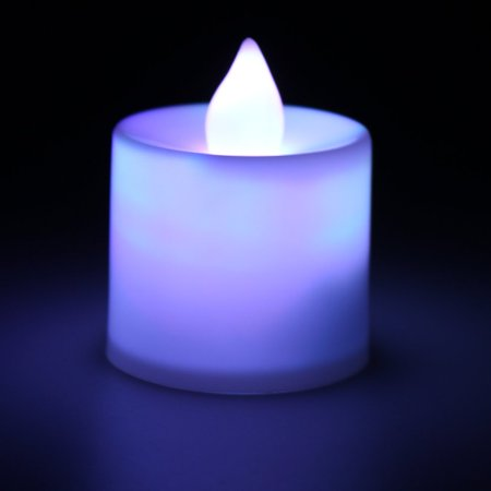 Superior Romance LED Flash Flameless Candle Light Lamp for Birthday Dinner Spa Party Pub Room Decoration - image 5 of 7