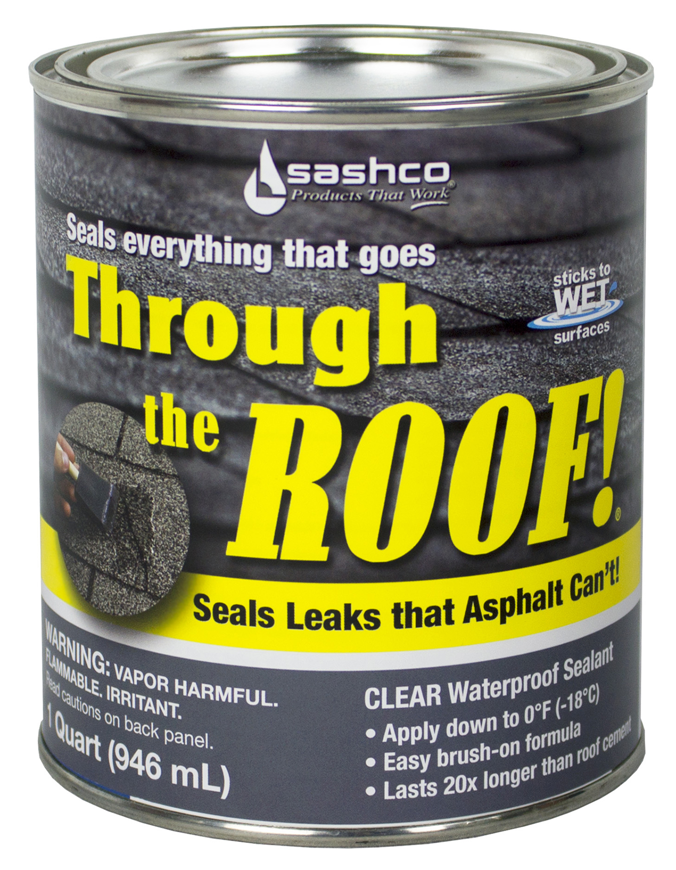 Marvelous Sashco Sealants 14023 QT 1 Quart Through The Roof Sealant