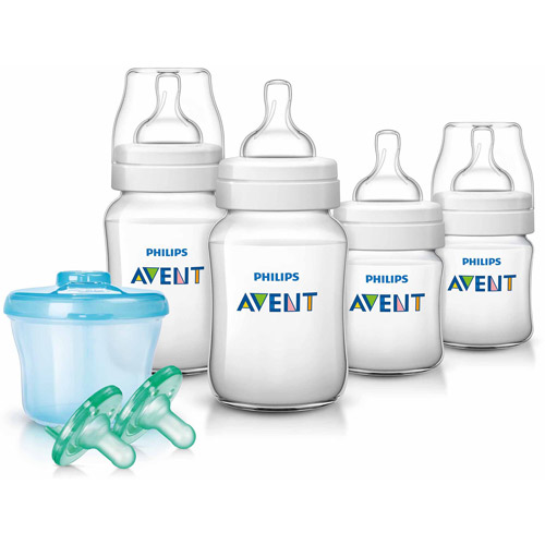 Philips AVENT Classic+ Newborn Starter Set, Wal-Mart Exclusive