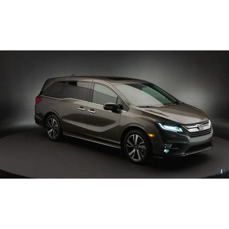 Blue Fog Light Kit (New 2018 2019 Honda Odyssey Blue LED Fog Lamps Driving Lights Kit)