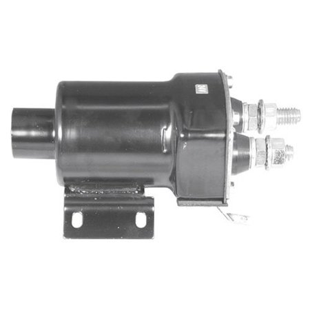 - Starter Solenoid - Delco Style - 24 Volt - 4 Terminal - Oval Face, New, Caterpillar, 7T8858