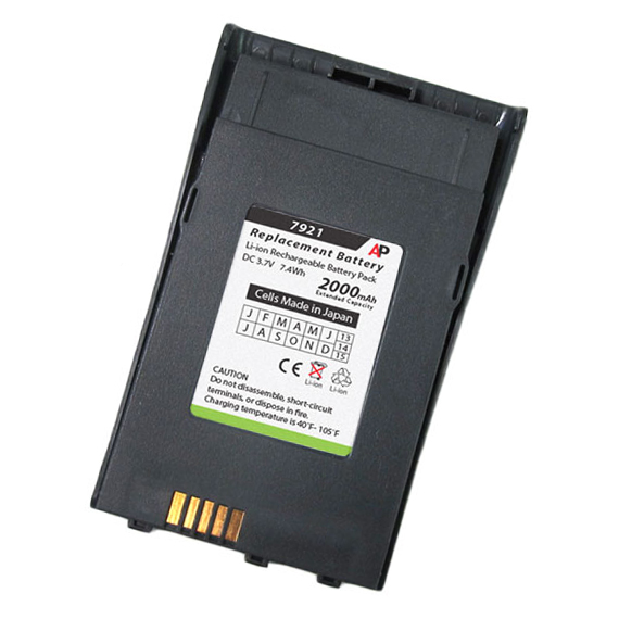 Cisco 7921G Phone Replacement Battery. Extended Capacity 2000 mAh
