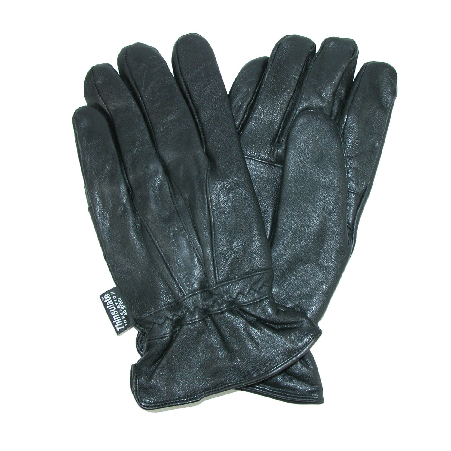 Dorfman Pacific Mens Thinsulate Lined Genuine Lambskin Leather Gloves