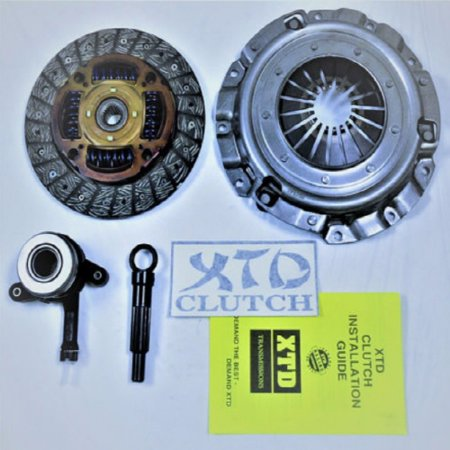 XTD HEAVY DUTY CLUTCH KIT 2008-2010 LANCER DE ES GTS 2.0L NON-TURBO (Mitsubishi Heavy Duty Clutch Kit)