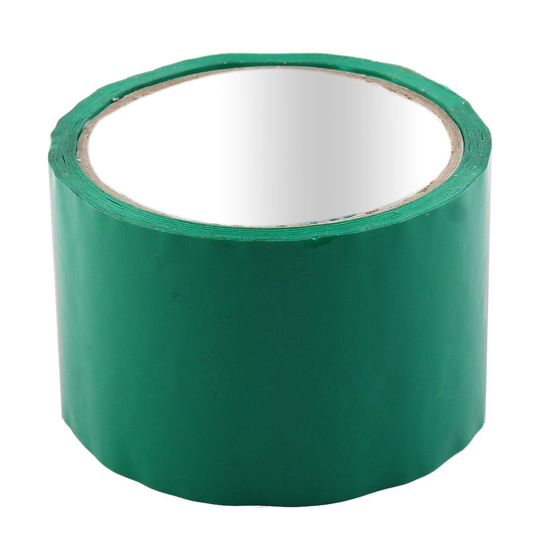 Shipping PVC Box Sealing Adhesive Tape Dark Green 2.4'' x 32.8 Yards(98.4 Ft)