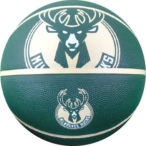 Spalding NBA Courtside Milwaukee Bucks Full-Size Basketball