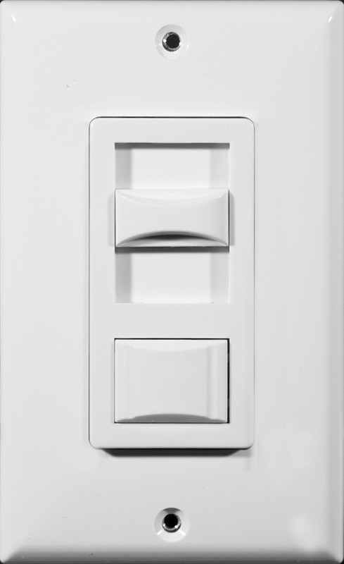 LED & Fluorescent Dimmer White 3-Way by Morris