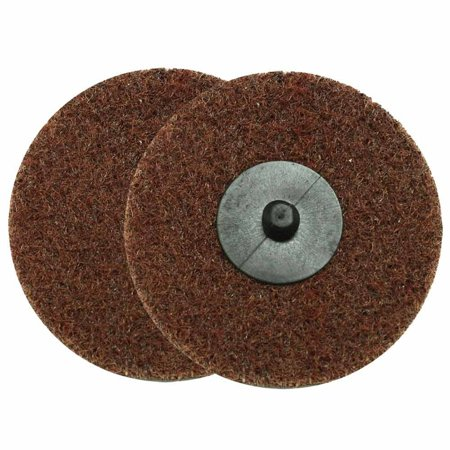 """SD3M 3"""" ROLL-ON/ROLL-OFF Style Surface Conditioning Sanding Disc (Maroon / Medium), Equivalent to 3M Roloc surface conditioning discs By Superior Pads and Abrasives"""
