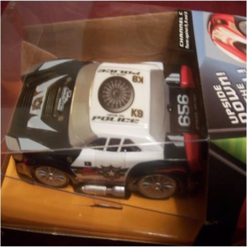 Air Hogs R C: Zero Gravity Car Police Car K9 by